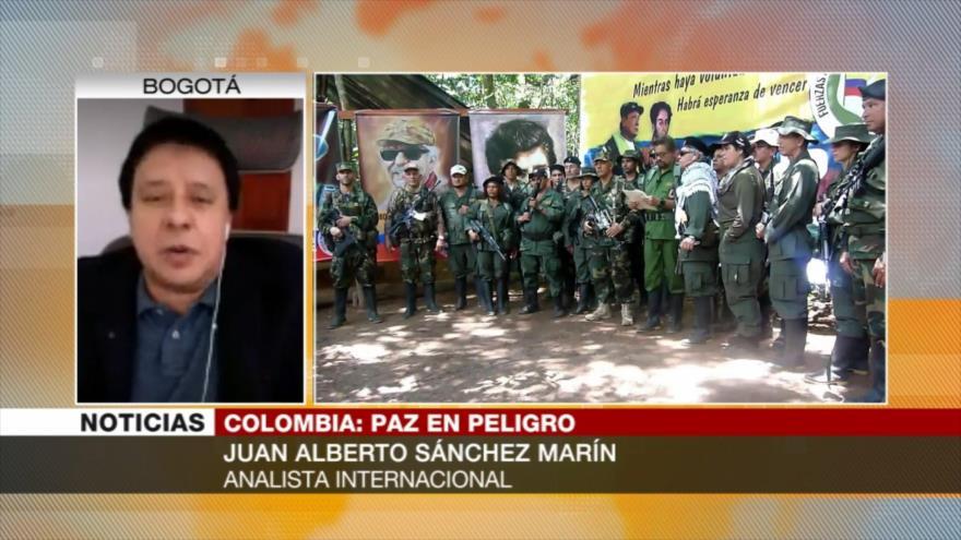 Sánchez Marín: Las FARC buscan reconducir acuerdo de paz