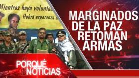 El Porqué de las Noticias: Conflicto sirio. Apoyo ilegal a Israel. Colombia: paz en peligro