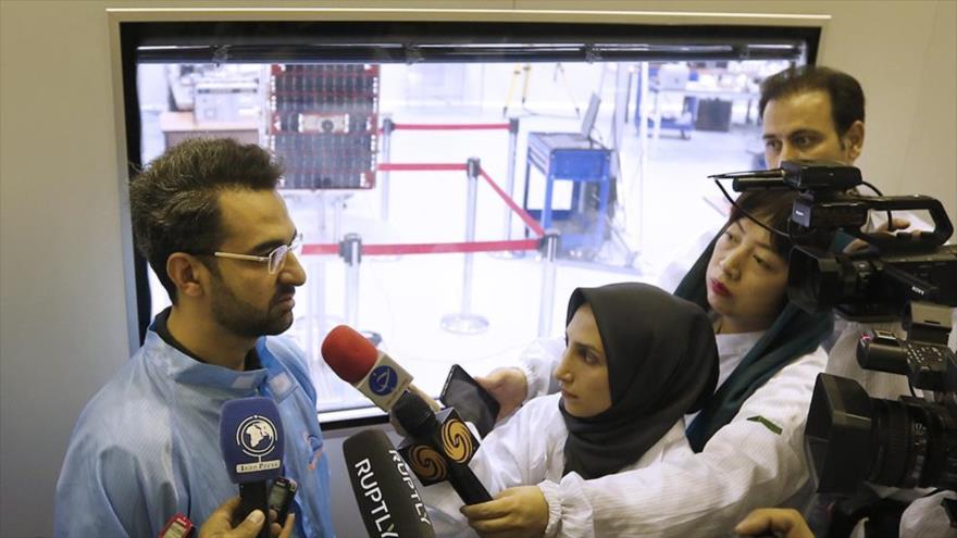 Irán desmiente alegatos de EEUU sobre su satélite Nahid-1