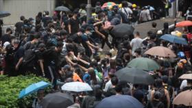 China protesta contra EEUU por sus injerencias en Hong Kong