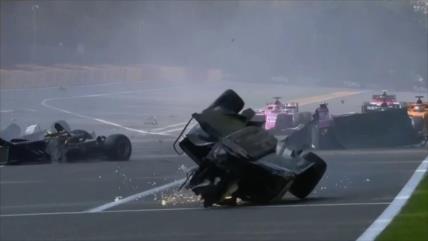Vídeo: Accidente en Fórmula 2 deja un piloto muerto y dos heridos