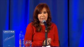 Primera aparición de Cristina Fernández luego de elecciones primarias