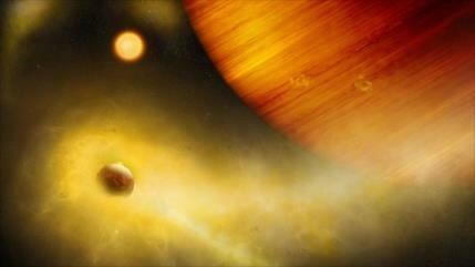 Científicos descubren una luna volcánica en el sistema exosolar