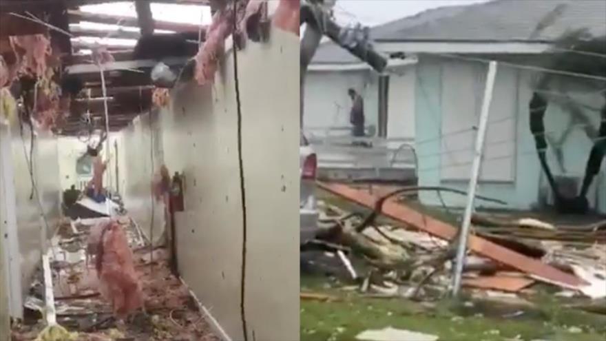 Huracán Dorian causa una 'devastación sin precedentes' en Bahamas