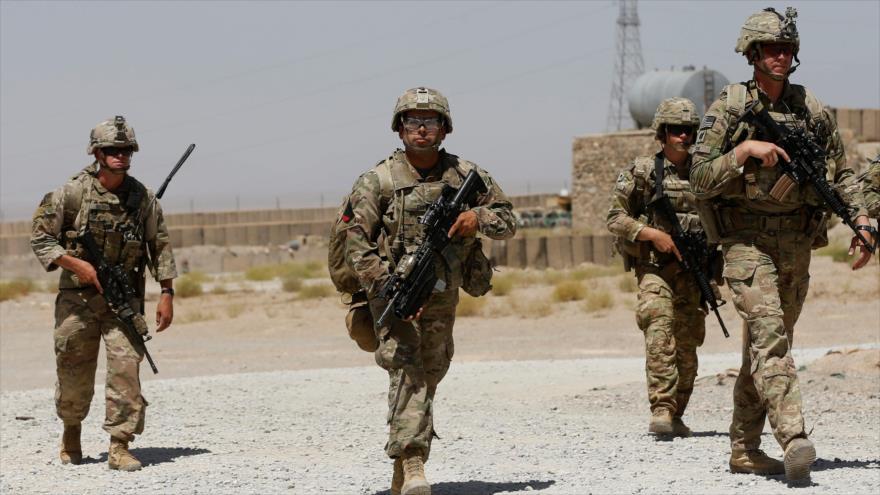 Tropas estadounidenses patrullan en una base del Ejército Nacional Afgano en la provincia de Logar, Afganistán, 7 de agosto de 2018. (Foto: Reuters)