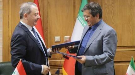 Irán y Siria desarrollan lazos bancarios y crean un banco conjunto