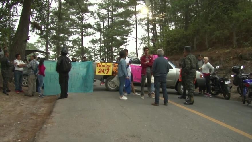 En Honduras comunidades disputan el agua con empresarios