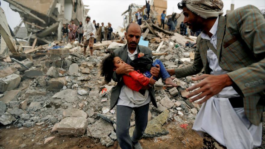 ONU culpa a EEUU, R.Unido y Francia de crímenes de guerra en Yemen | HISPANTV