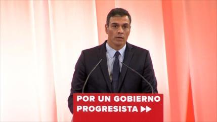 Pedro Sánchez ofrece un acuerdo programático a Pablo Iglesias