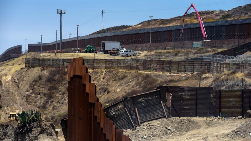 El muro fronterizo México-EE.UU. en Tijuana, México, 18 de junio de 2019. (Foto: AFP)