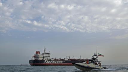 Irán liberará a 7 tripulantes de petrolero británico incautado