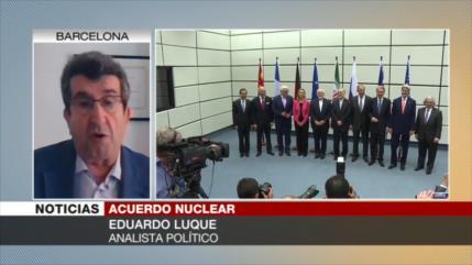 Luque: Los 'vasallos' europeos no podrán salvar el pacto nuclear