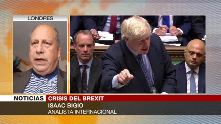 """""""Johnson no logra un brexit duro al perder mayoría parlamentaria"""""""