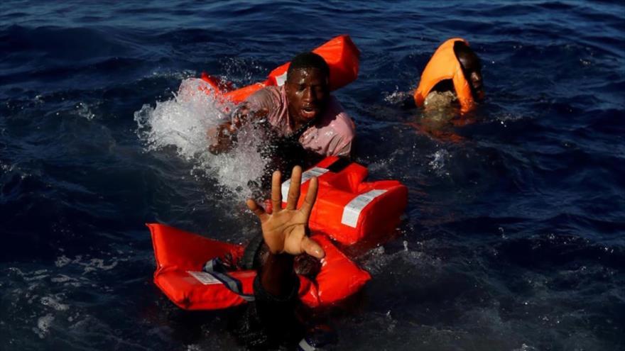 Fotos que sacuden al mundo: Inmigrantes mediterráneos