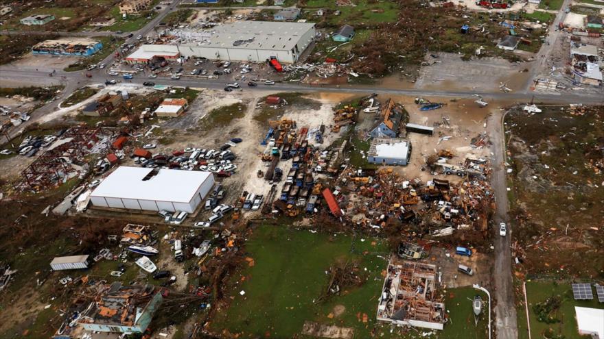 Los efectos del huracán Dorian en las Bahamas, 3 de septiembre de 2019. (Foto: AFP)