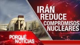 El Porqué de las Noticias: Acuerdo nuclear. Caótico Brexit. Situación de DDHH en Brasil