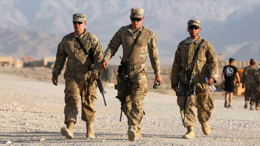 Los militares estadounidenses en Afganistán.