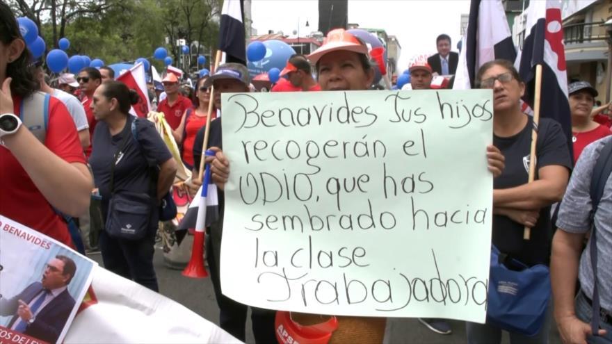 Ley antihuelgas es enviada a revisión constitucional en Costa Rica