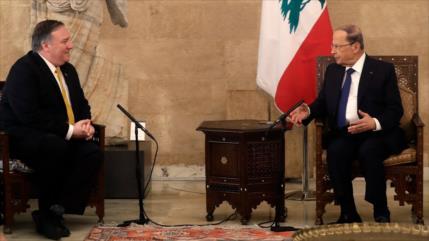 EEUU amenaza a Beirut por supuesta fábrica de misiles de Hezbolá