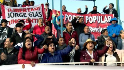 Convocan marcha por Glas en Ecuador, detenido por caso Odebrecht