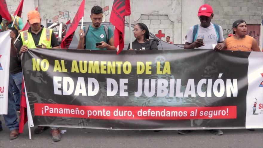 Panameños rechazan cambios a la normativa de pensiones