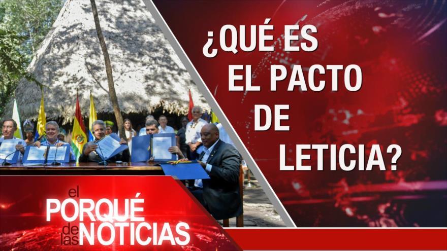 El Porqué de las Noticias: Acuerdo del Siglo. Armas ilegales en México. Acuerdo por la Amazonía