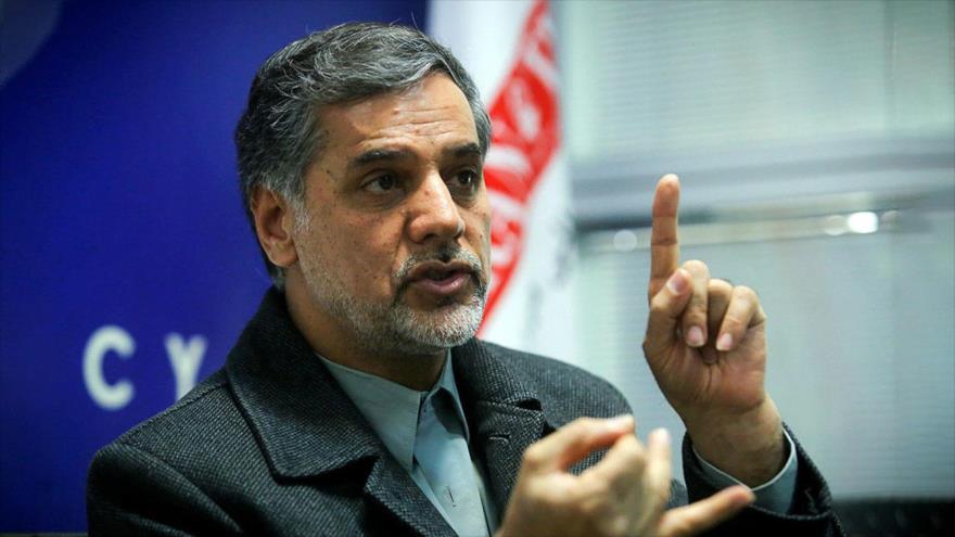 El portavoz de la Comisión de Seguridad Nacional y Política Exterior del Parlamento iraní, Hosein Naqavi Hoseini.