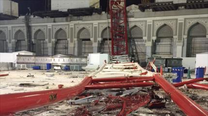 Riad absuelve a los acusados de colapso mortal de grúa en La Meca