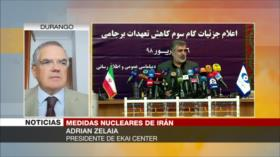 """Sumisión"" de Europa a EEUU lleva a Irán a dar su 3.º paso nuclear"