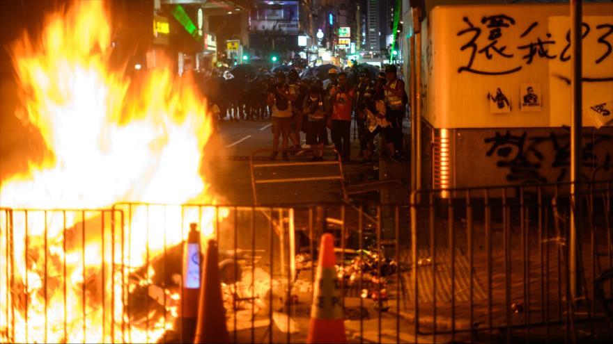 "Venezuela censura violencia desatada por ""foráneos"" en Hong Kong   HISPANTV"