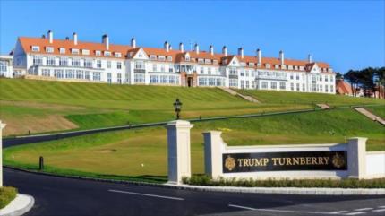 Congreso indaga a Trump por conflicto de interés en Escocia