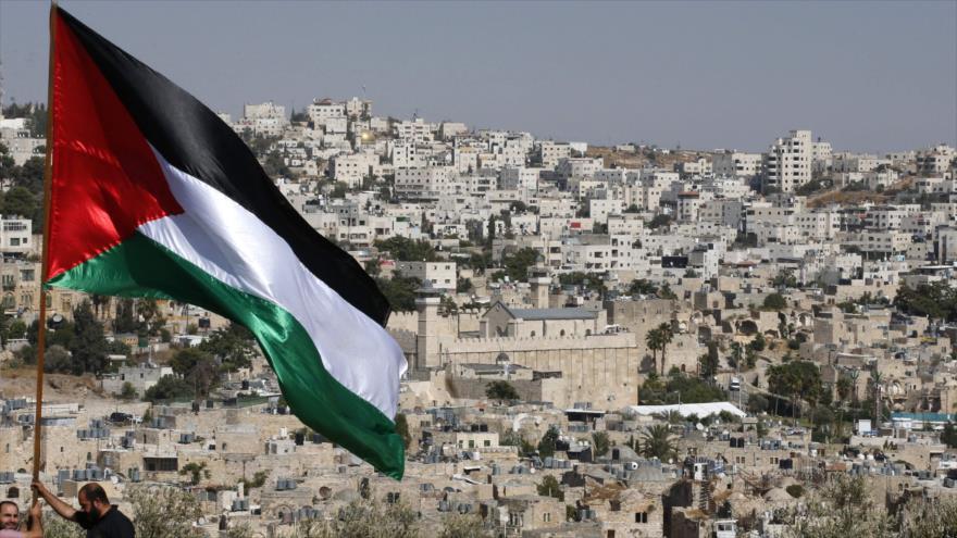 Vista general del asentamiento de Rumeida, en la ocupada Cisjordania, 4 de septiembre de 2019. (Foto: AFP)
