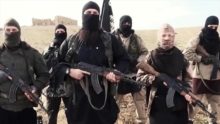 Miembros europeos del grupo terrorista EIIL (Daesh, en árabe).