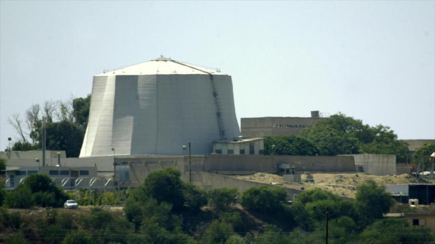 Centro nuclear israelí Soreq en los territorios ocupados palestinos.