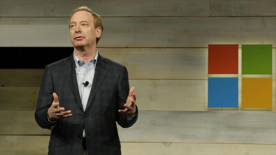 El presidente y director legal de Microsoft, Brad Smith.