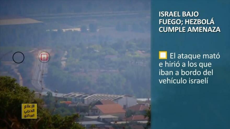 PoliMedios: Israel bajo fuego; Hezbolá cumple amenaza