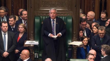 Jefe del Parlamento británico anuncia su dimisión por Brexit