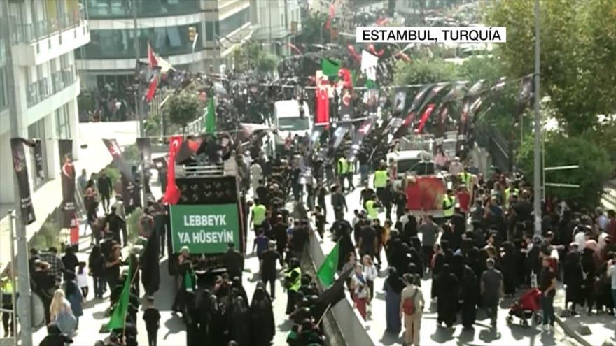 Musulmanes chiíes de todo el mundo conmemoran el día de Tasua