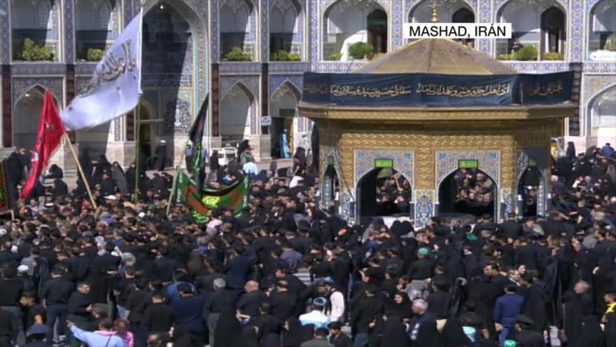 Los iraníes se visten de luto para conmemorar el día de Tasua