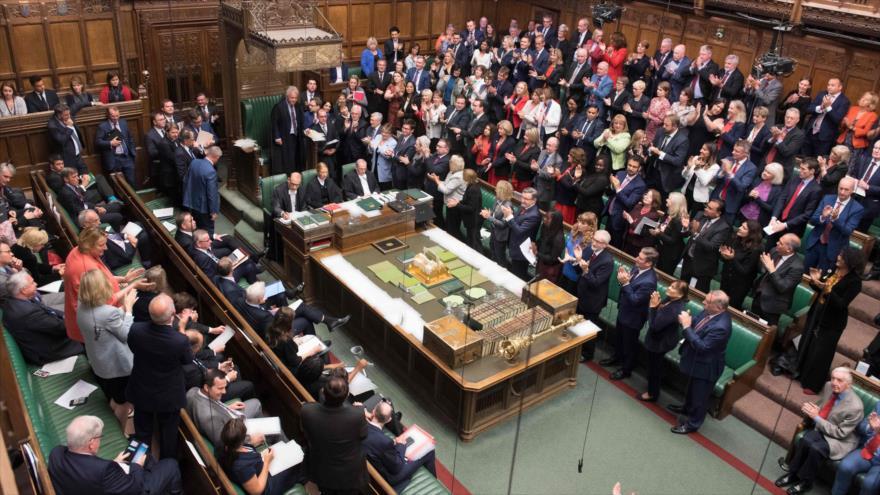 Una sesión de la Cámara de los Comunes del Reino Unido en Londres, 9 de septiembre de 2019. (Foto: AFP)