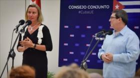 La Unión Europea ratifica apoyo a Cuba, pese a presiones de EEUU