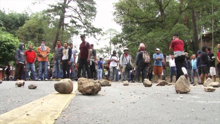 Hondureños se unen en defensa del agua