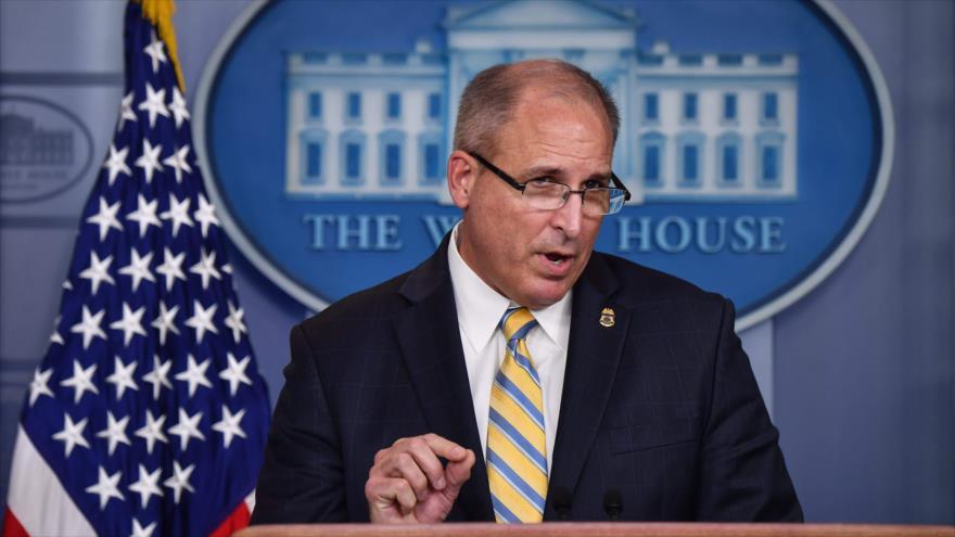 El encargado en funciones de la Oficina de Aduanas y Protección Fronteriza, Mark Morgan, en Washington, 9 de septiembre de 2019. (Foto: AFP)