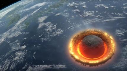 Crater Chicxulub Hispantv Científicos del imperial college de londres realizaron una simulación en una supercomputadora del impacto del meteorito que extinguió a los dinosaurios. crater chicxulub hispantv