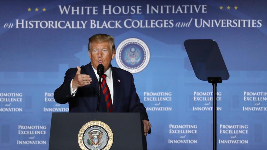 El presidente de EE.UU., Donald Trump, Washington D.C. 10 de septiembre de 2019.