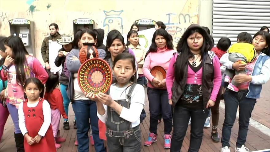 Pueblos indígenas de Colombia viven grave crisis humanitaria