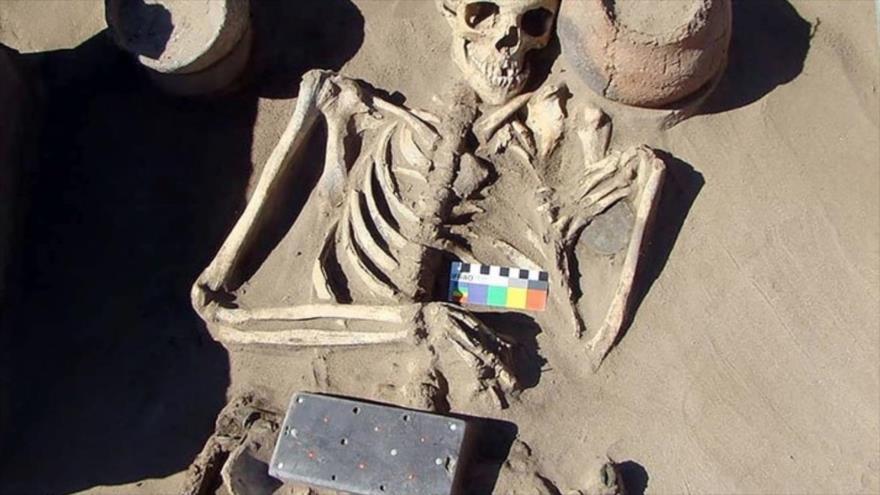 Vídeo: Arqueólogos hallan 'iPhone' de hace 2100 años