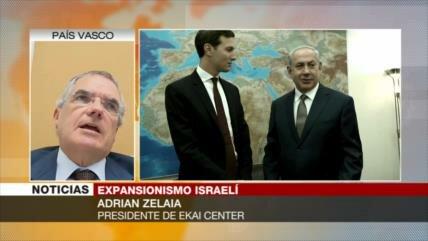 Zelaia: Acuerdo del siglo de Trump empuja expansionismo israelí
