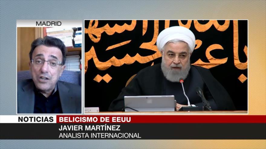 Martínez: Despido de Bolton no cambia política de EEUU ante Irán