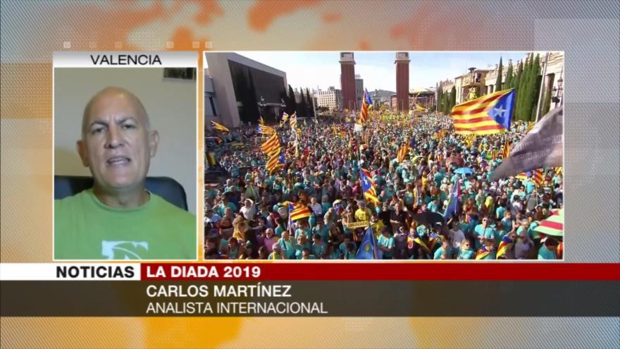 Martínez: Líderes catalanes no deben ser juzgados por 'rebelión'